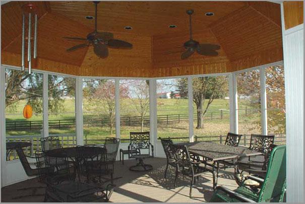 New Custom Home Design - Sunrooms Porches 8