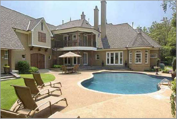 New Custom Home Design - Inground Pools 2