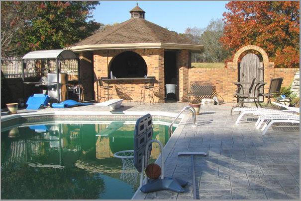 New Custom Home Design - Inground Pools 3