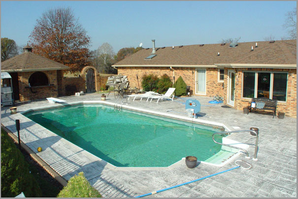 New Custom Home Design - Inground Pools 4