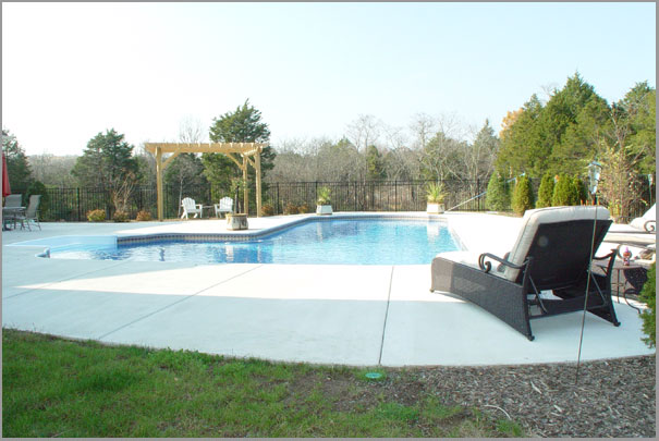 New Custom Home Design - Inground Pools 5
