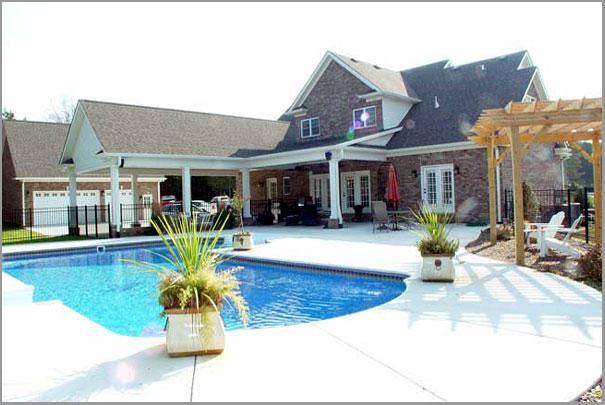 New Custom Home Design - Inground Pools 6