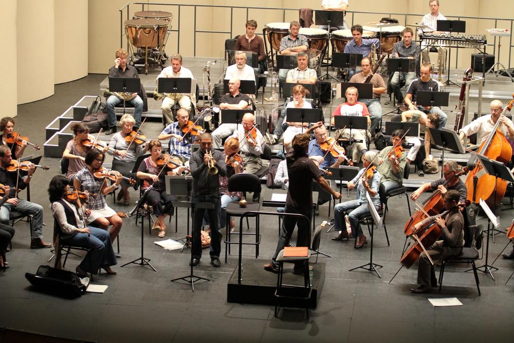 Opéra-Théâtre de Limoges, France | Orchestre de l'Opéra de Limoges  Ibrahim Maalouf, trumpet  September 2011