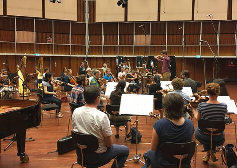 WDR Sinfonieorchester, Cologne  Barraqué,  Ballet  (radio recording)  June 23, 201è