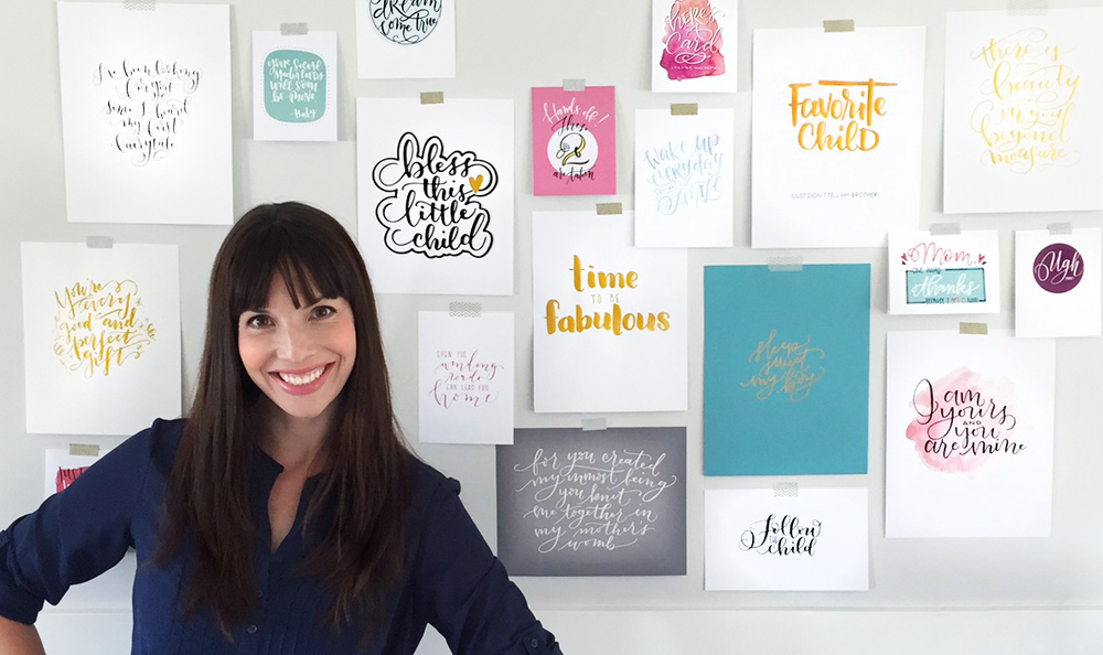Amanda Arneill Say it Pretty Hand Lettering Designs
