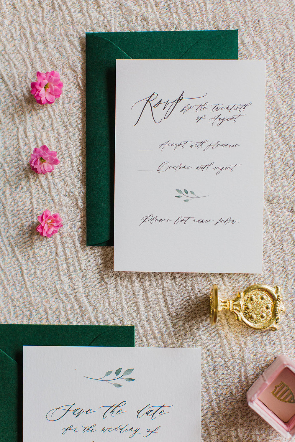 Merilee Hand Painted Calligraphy Wedding Invitation Feathered Heart PrintsFHP-65.jpg