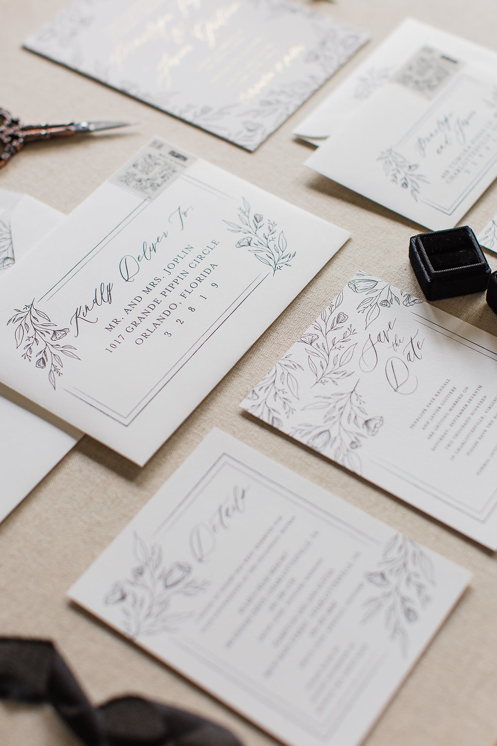 Penelope - Hand Drawn Floral Wedding Invitations -FHP-45.jpg