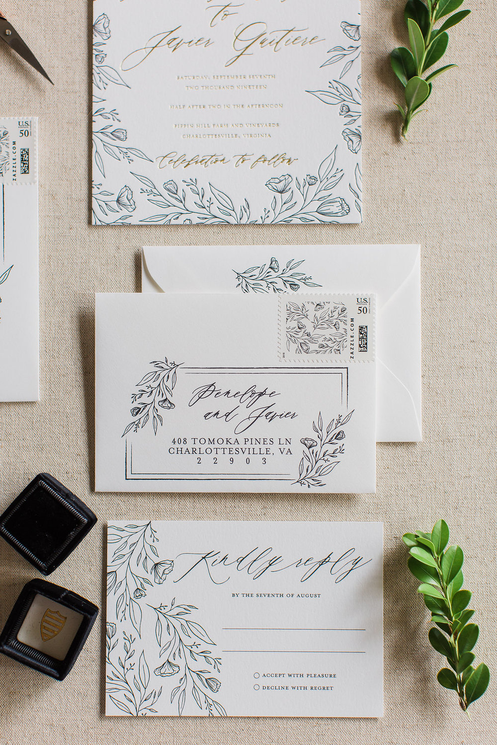 Penelope - Hand Drawn Floral Wedding Invitations -FHP-47.jpg