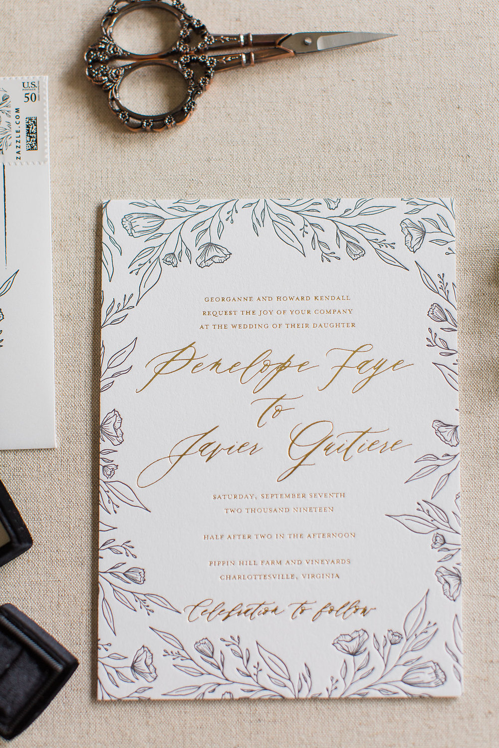 Penelope - Hand Drawn Floral Wedding Invitations -FHP-53.jpg