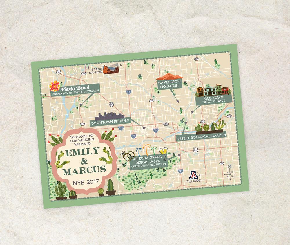 Pheonix-Arizona-Wedding-Map---Feathered-Heart-Prints.jpg