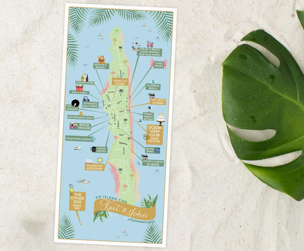Harbour-Island-Bahamas-Wedding-Map---Feathered-Heart-Prints.jpg