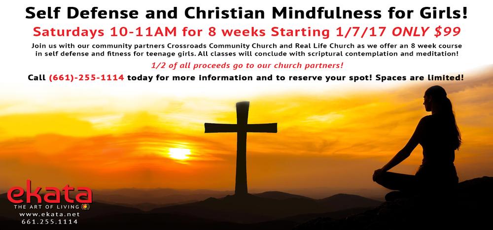 Self Defense and Christian Mindfulness