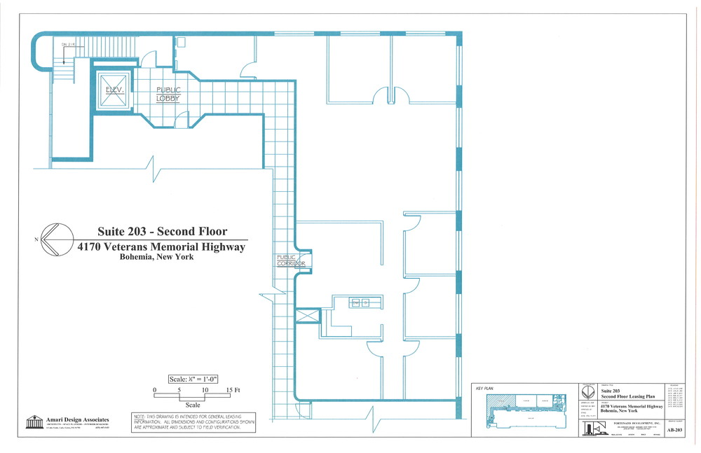 4170 VETERANS HIGHWAY SUITE 203    2nd Floor Southeast Corner - 3,164 SF