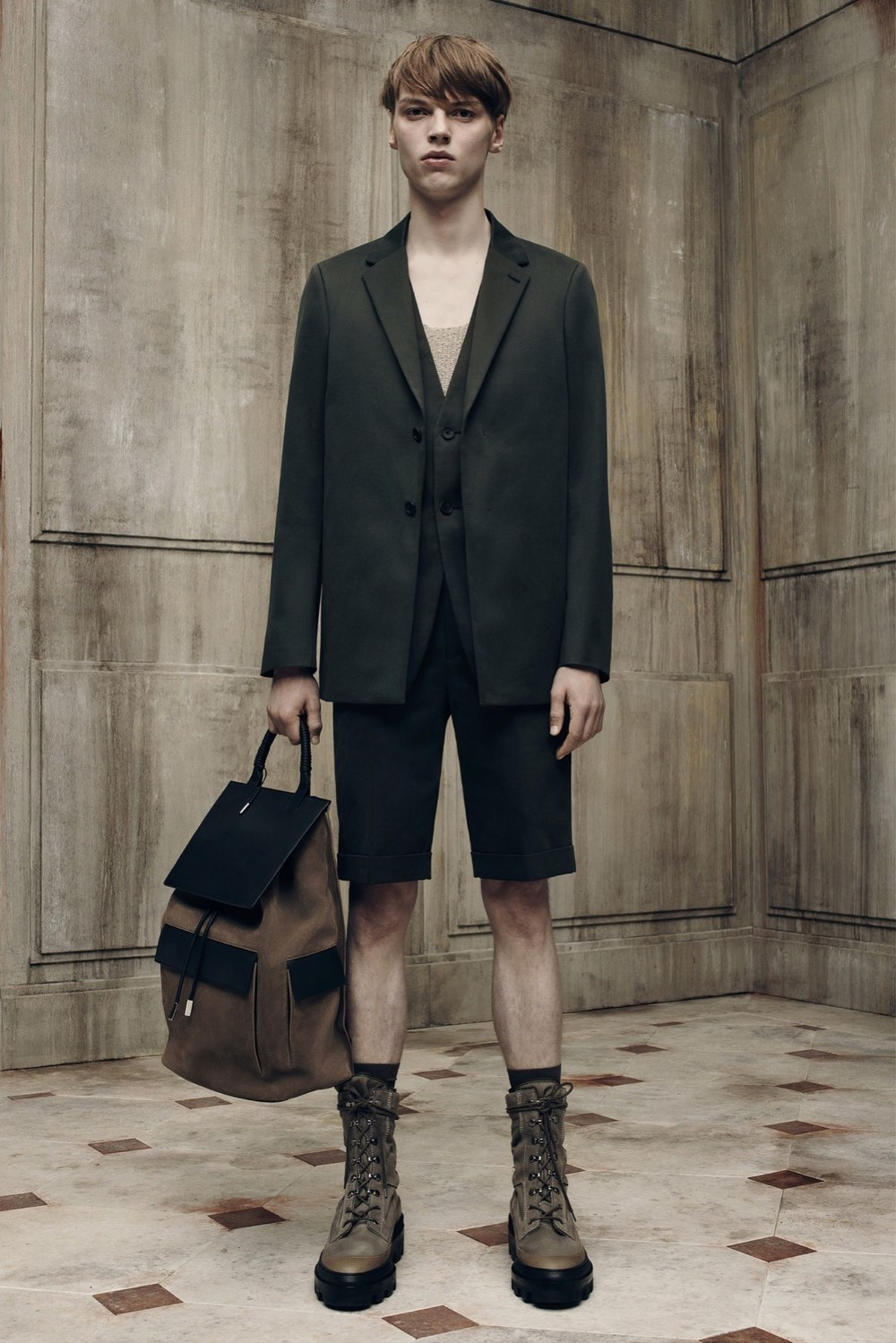 Balenciaga, Spring 2016, menswear, lookbook