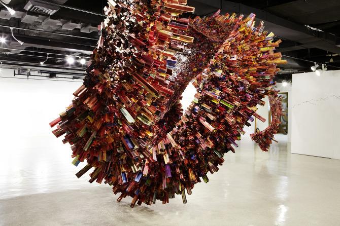 Yunwoo Choi, Korean Art, Paper Sculptures