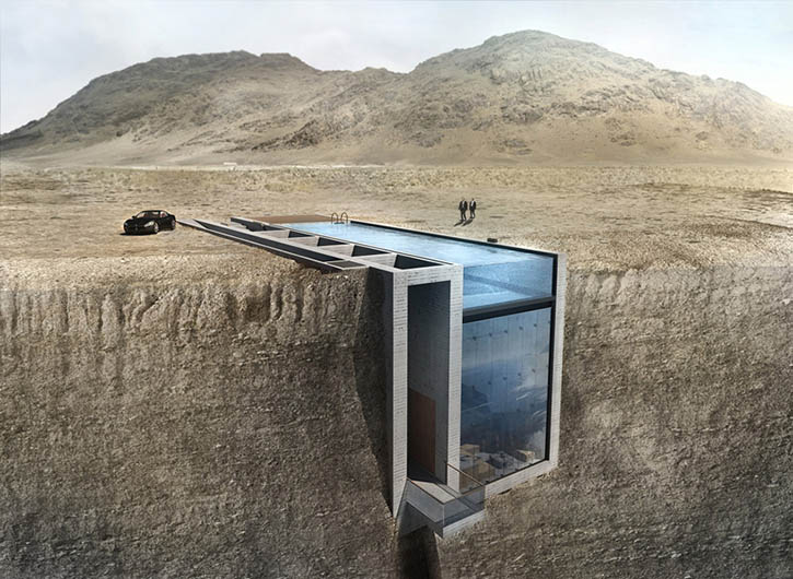 Casa Brutale, Cliffside House