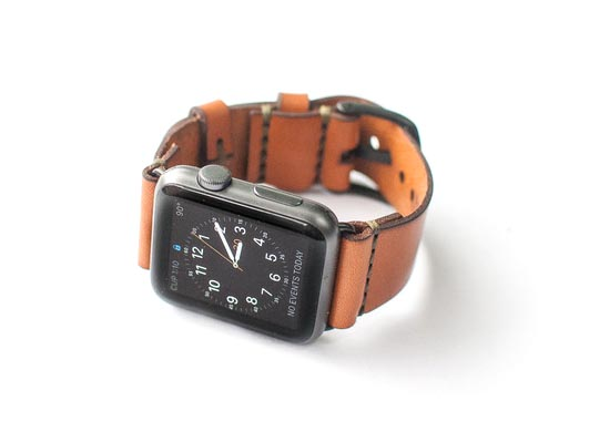 Apple Watch Band, Bexar Goods Co, Leather Apple Watch
