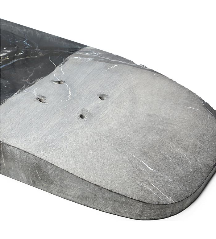 Rick Owens, Skateboard, skate deck, petrified wood