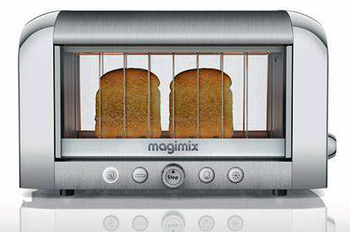 Magimix, Seethrough Toaster, Clear Toaster
