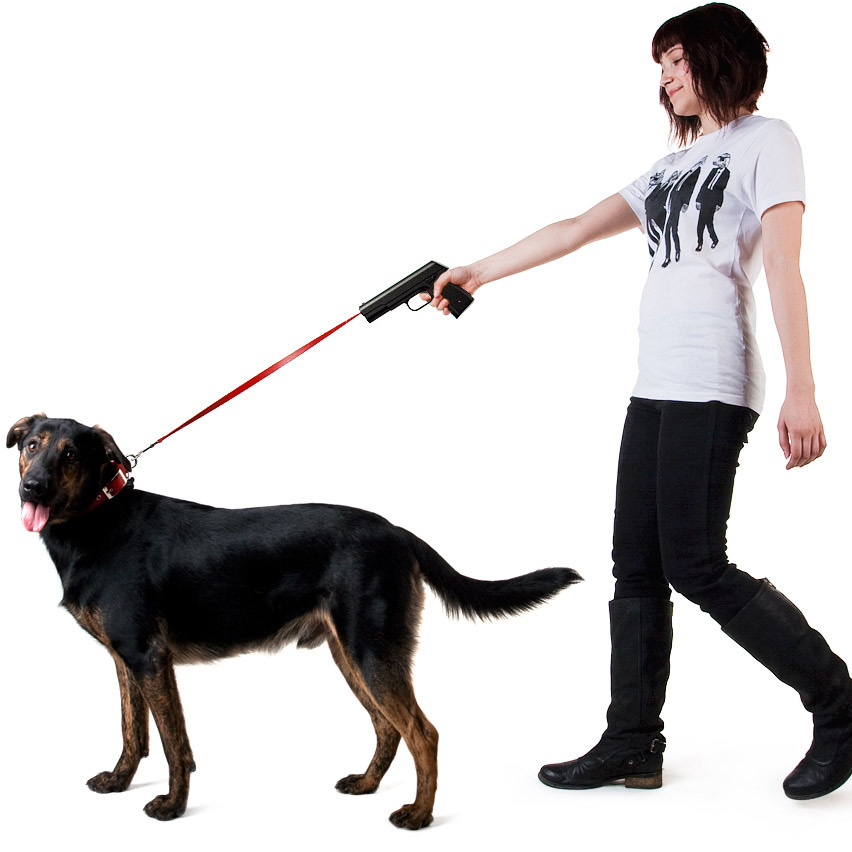 Dog Leash Gun
