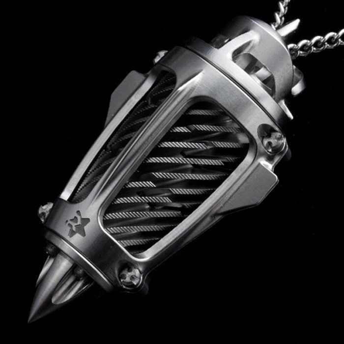 Rogue DZN, Titanium Jewelry, military grade, necklace, pendant