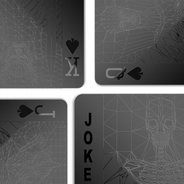 Black Playing Cards, molla space design, alex and chloe