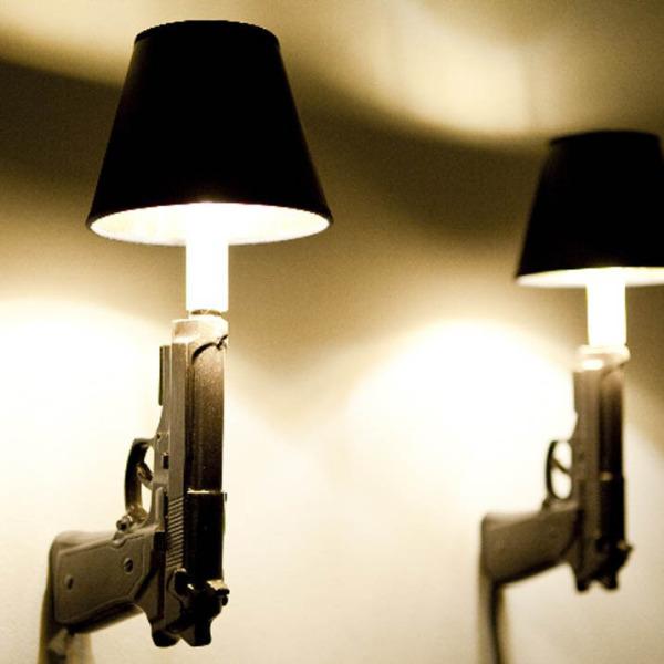 Gun Lamp, Ceramicryan, etsy