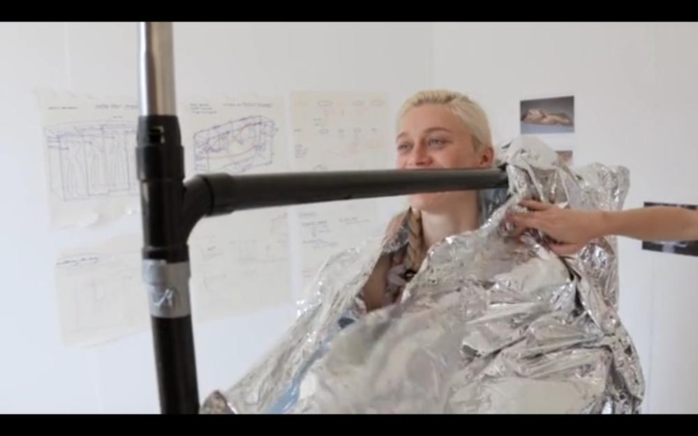 Lucy McRae, Artist, Negative pressure, Human Sculptures