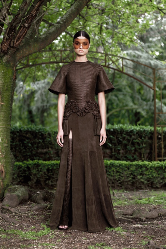 Givenchy, Couture, Fall 2012, Lookbook