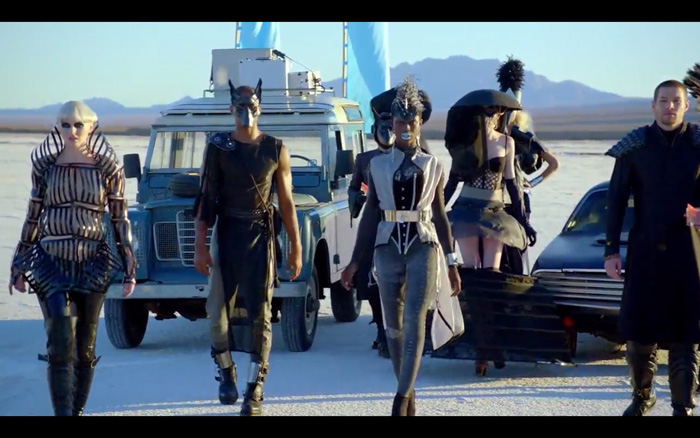 Absolut Greyhound, Mad Max, Desert Racing, Steampunk, The Future, Swedish House Mafia, Video