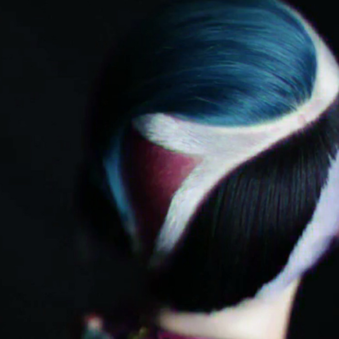 80's Hair,  Punk Rock Hair, Dazed Digital, Multicolored Hair, Colorblocking Hair