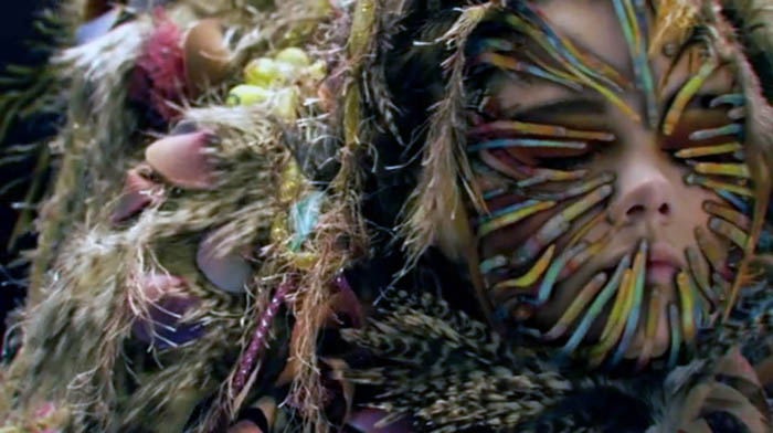 Andrew Huang, Solipsist, Fashion Film, Bjork, Underwater