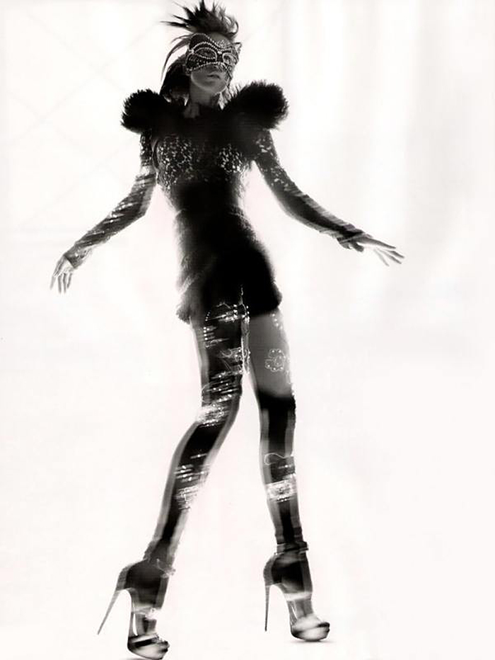 Nick Knight, Vogue UK, Refined Rebel, Black and white, Fashion photography, Abstract photography