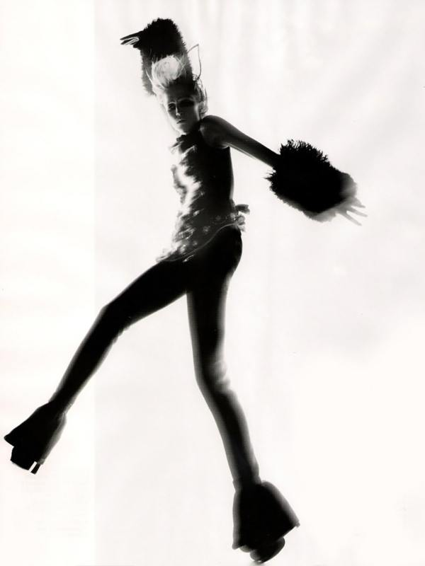 Nick Knight, Vogue UK, Refined Rebel, Black and white, Fashion photography, Abstract photography, edgy fashion