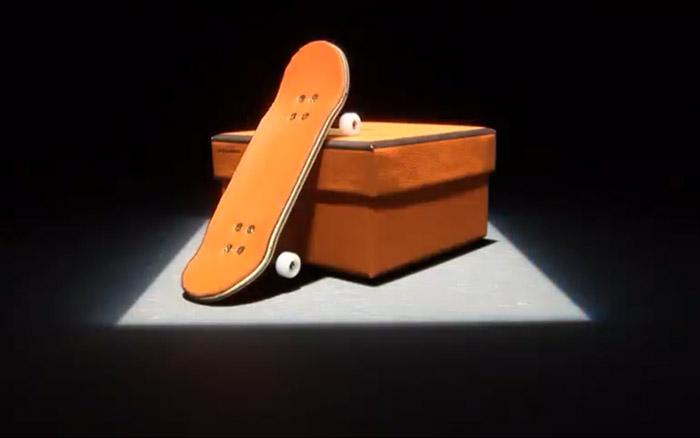 Hermes Skateboard, Finger Skate, Skateboard