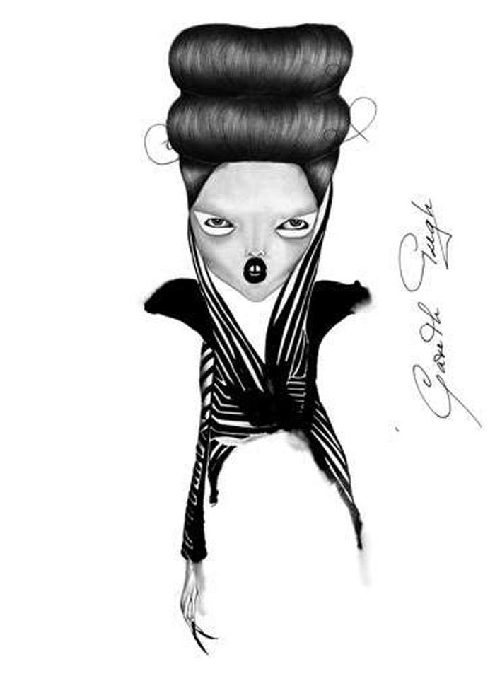 Jowy Maasdamme, Fashion Illustration. Beauty
