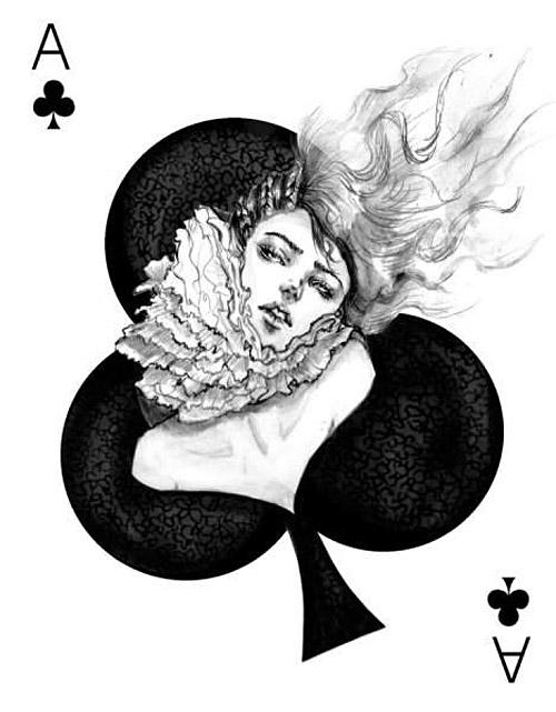 Connie Lim, Fashion Illustration, Fashion Playing Cards