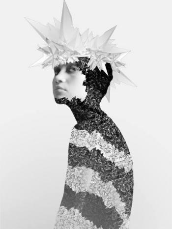 Michael Ostermann, Fashion Illustration, Digital Fashion, Edgy Fashion Photography