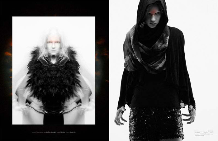 Axel Engstrom, ones to watch, manifeste futurisme, Edgy fashion photography