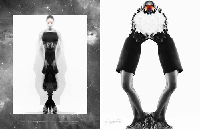 Axel Engstrom, ones to watch, manifeste futurisme, Edgy fashion photography, mirror photography