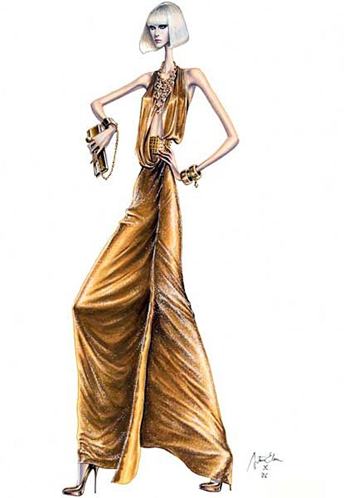 Arturo Elena, fashion illustration, self taught, graphic design