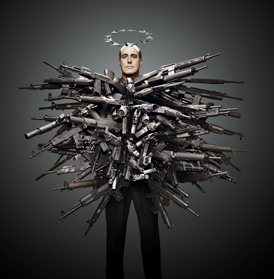 Phillip Toledano, fashion photography, manipulated, fantasy, guns graphic, shocking photography