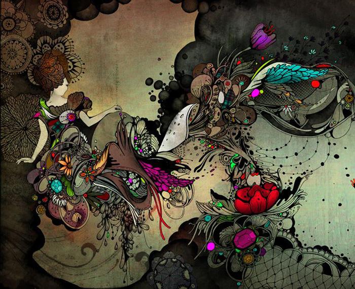 Linn Olofsdotter, illustrator, illustrations, sweden, swedish, fantasy, watercolor, graphic