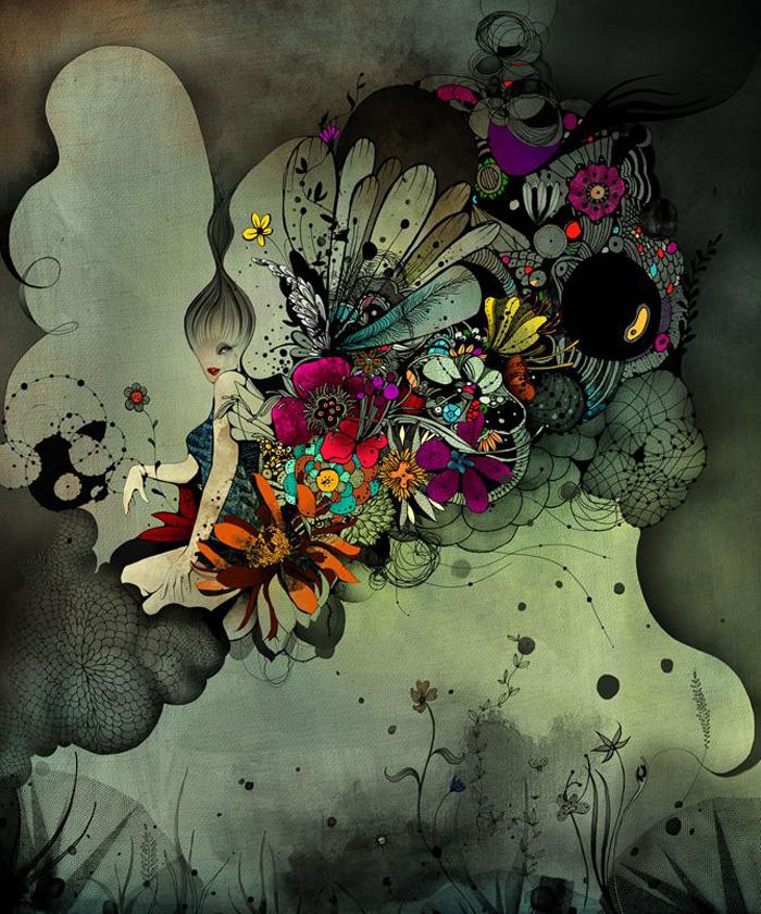 Linn Olofsdotter, illustrator, illustrations, sweden, swedish, fantasy, watercolor, graphic, fairytale