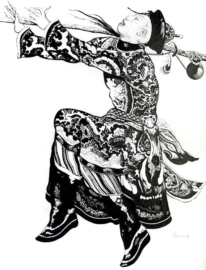 Vania Zouravliov, illustration, fashion illustration
