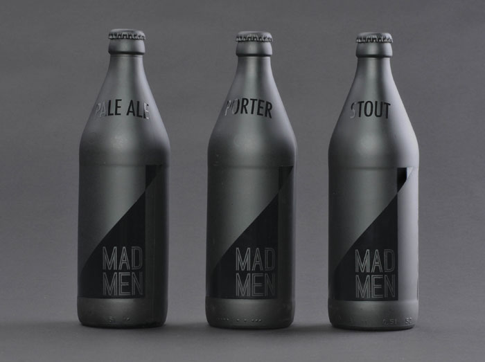 Samantha Mancl, Mad Men, Beer, Packaging