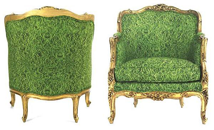 Chair Couture, Reupholstered furniture