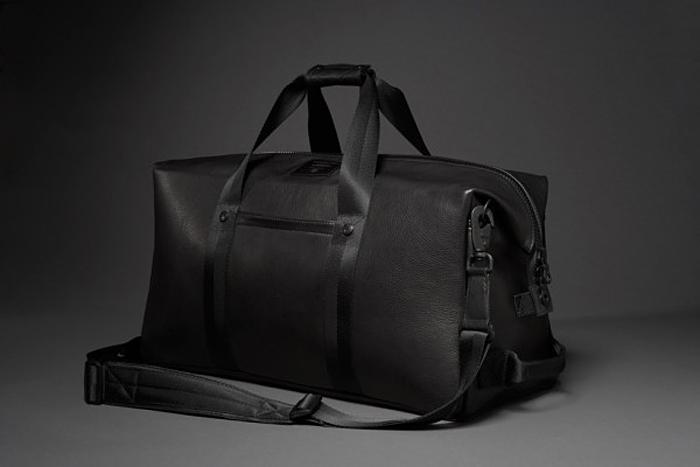Killspencer, travel bag, leather duffle bag