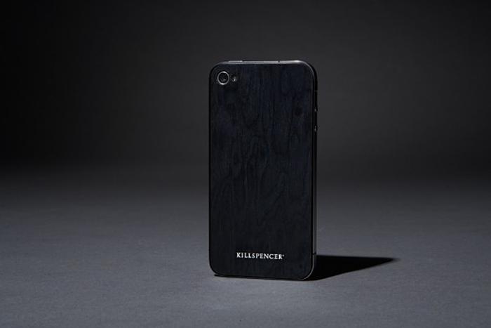 Killspencer, wooden iphone skin, case