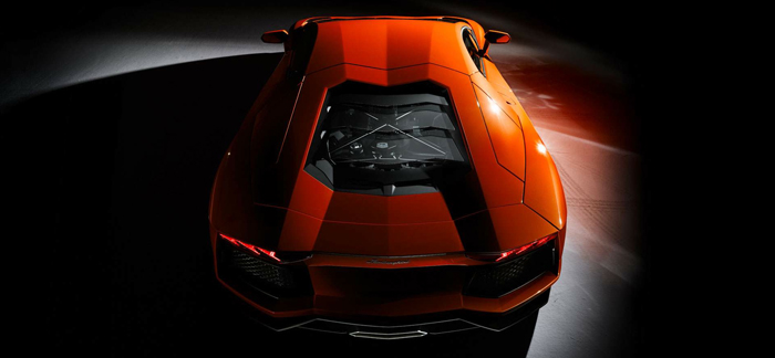 Lamborghini Aventador, orange lamborghini